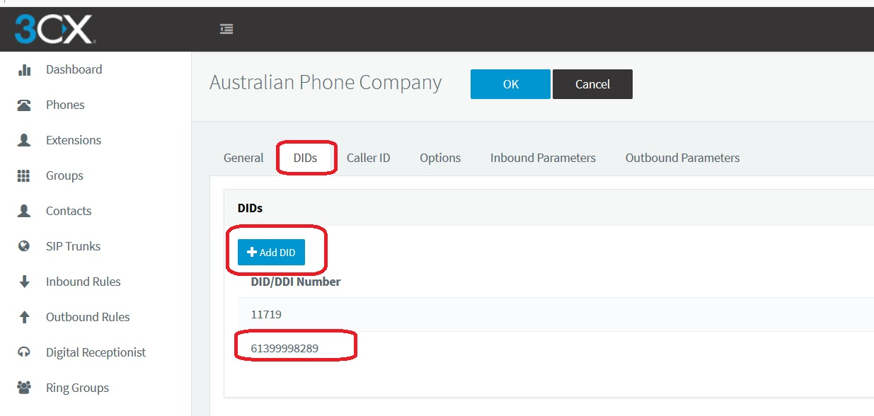 3CX Phone System configuration – Australian Phone Company