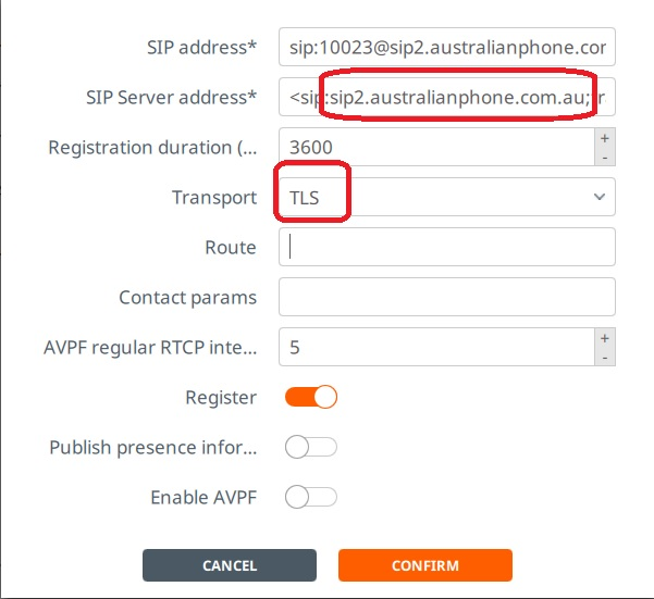 Linphone SIP Account Configuration – Australian Phone Company